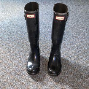 Hunter Boots | Rainboots | Winter boots |Size: 6 |
